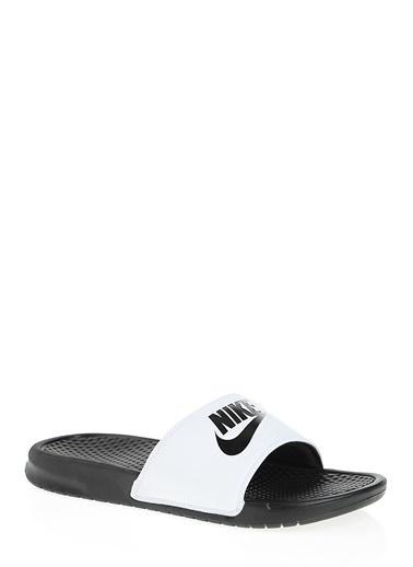 Nike Plaj Terliği Beyaz